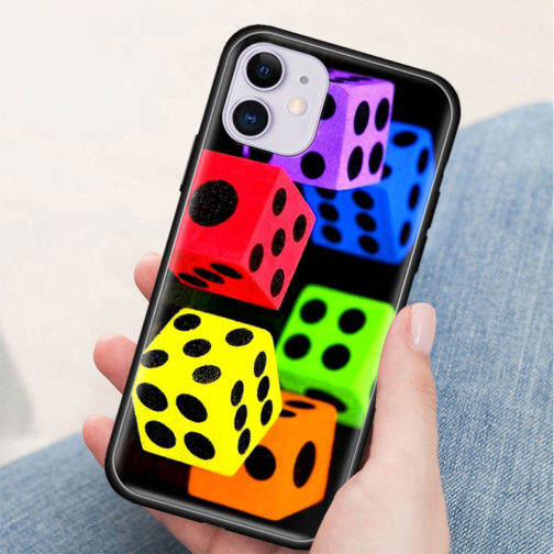 Coque Iphone Silicone LGBT - Dés