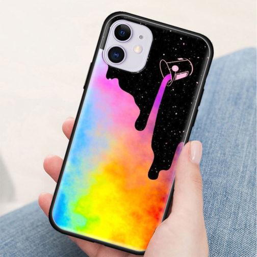 Coque Iphone Silicone LGBT - Peinture