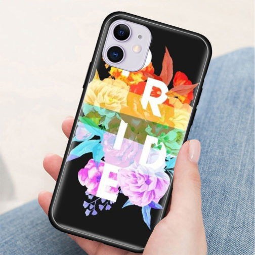Coque Iphone Silicone LGBT - Pride