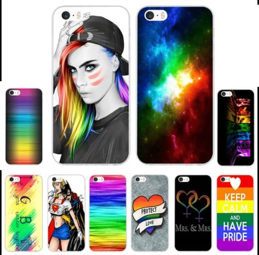 Coques Iphones LGBT - 10 modèles