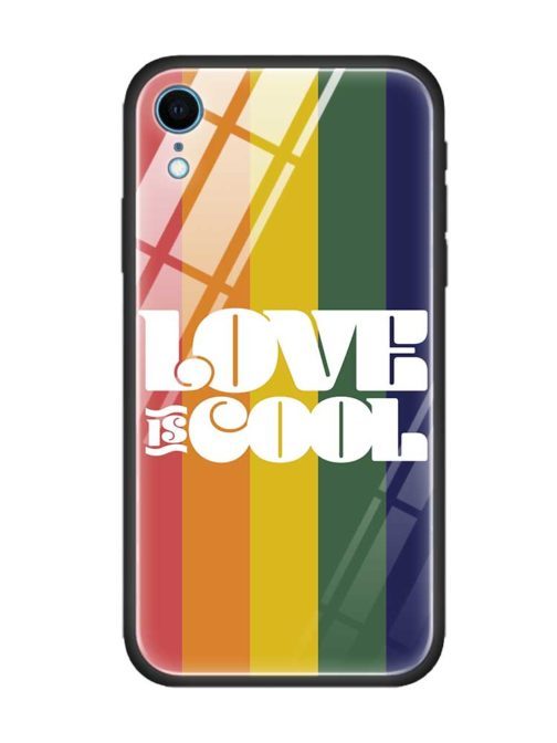 Coque protection Iphone - modèle Love is cool