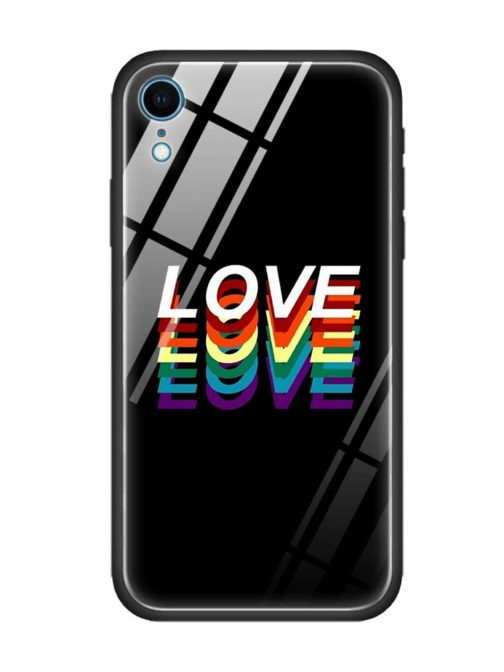 Coque protection Iphone - modèle Love love love
