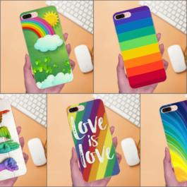 Coques LGBT Samsung Galaxy - 7 modèles arc-en-ciel