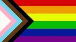 Drapeau LGBT Progress Pride flag