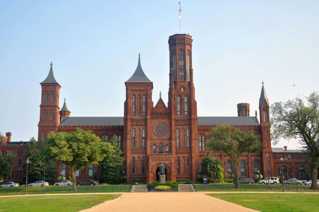 Photo façade du complexe institution smithsonian
