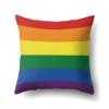 Drapeau LGBT bandes arc-en-ciel