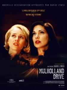 Affiche film Mulholland Drive de David Flynch 2001