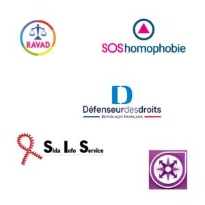 Image multiples logos d'entités contact urgence