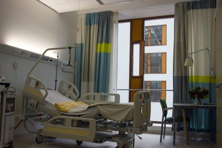 Photo chambre hôpital lit