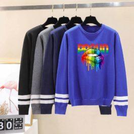 Pulls LGBT manches longues ceintres - plusieurs motifs et différentes couleurs