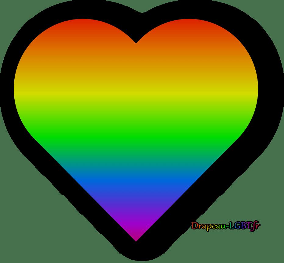 Coeur arc-en-ciel drapeau-lgbt.fr