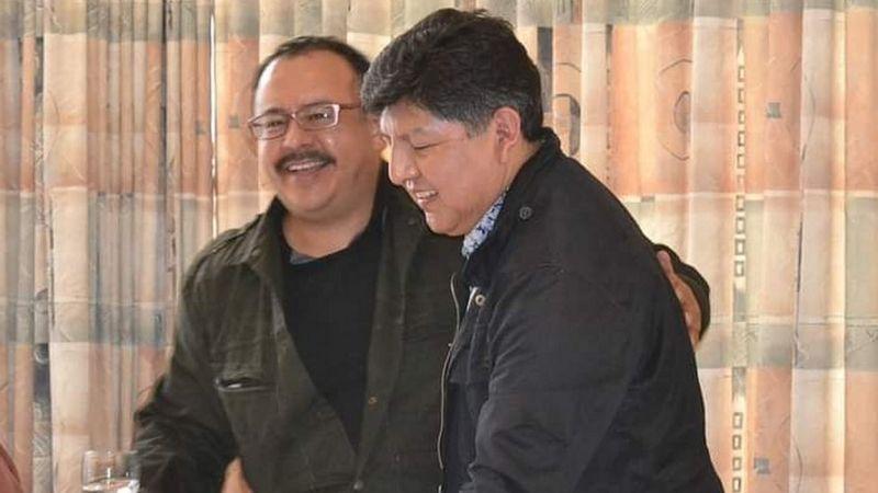 David Aruquipa et Guido Montano - Première union civile entre personnes de même sexe reconnue en Bolivie