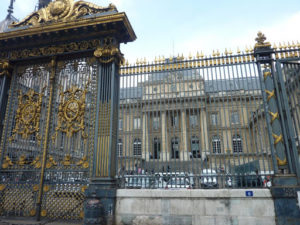 Cour d'assises Paris - Façade portail entrée bâtiment