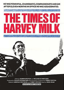 Affiche film documentaire The Times of Harvey Milk
