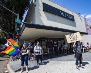 Wi Spa manifestations pro-LGBTQI+