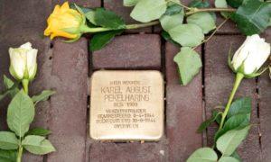 Pierre achoppement Pays-bas mémoire victimes gays lesbiennes Seconde Guerre mondiale