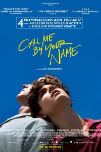Affiche film Call Me by Your Name de Luca Guadagnino 2017