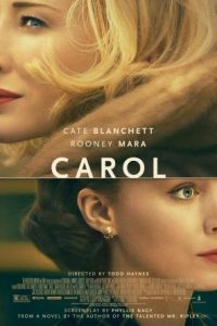 Affiche film Carol de Todd Haynes 2015
