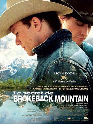 Affiche film Le secret de Brokeback Mountain de Ang Lee 2005