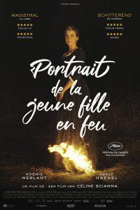 Affiche film Portrait de la Jeune Fille en Feu Céline Sciamma 2019