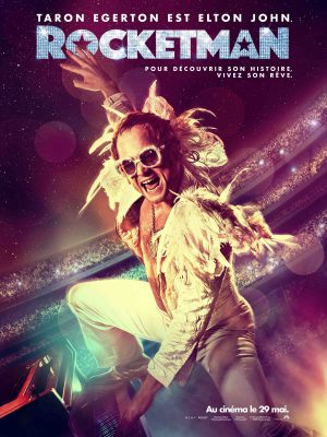 Affiche film Rocketman de Dexter Fletcher 2019