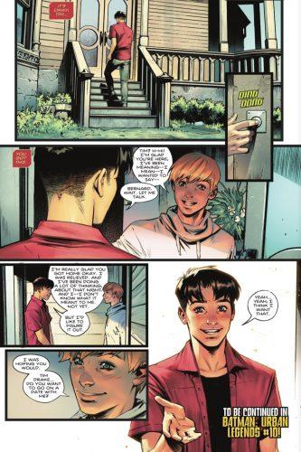 Batman : Urban Legends scène du coming out Robin