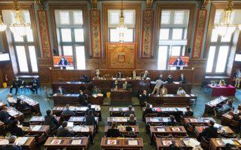 Photo du Conseil de Paris rassemblé le 8 juillet 2021