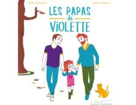Couverture livre Les papas de Violette Emilie Chazerand 2017