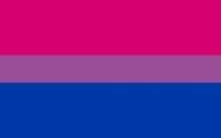 Drapeau bisexuel design de 1998