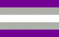 drapeau lgbt graysexuel grayasexuel