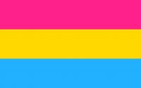 Design original du drapeau pansexuel 2010