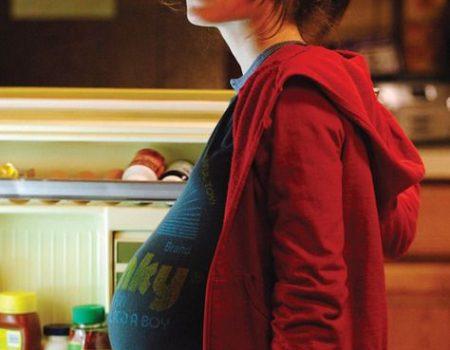 Ellen Page / Elliot Page enceinte film Juno 2007