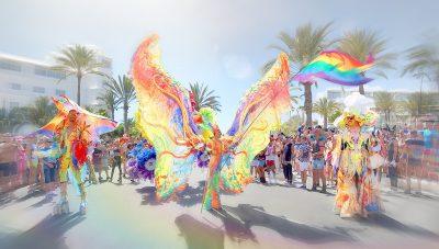 Photo page accueil drapeau-lgbt.fr - gay pride maspalomas 2019 déguisements et drapeaux LGBT