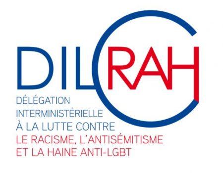 Logo DILCRAH 2017 - Délégation Interministérielle à la Lutte Contre le Racisme, l'Antisémitisme et la Haine anti-LGBT