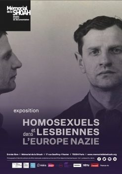 Mémorial de la Shoah - Homosexuels et lesbiennes dans l'Europe nazie - Affiche exposition