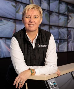 Nathalie Maillet CEO circuit Spa-Francorchamps