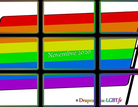 Newsletter actualités LGBTQI+ drapeau-lgbt.fr - Novembre 2020