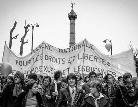 Première Gay Pride officielle France - Paris 1981