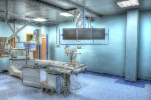 Salle opération chirurgicale hôpital