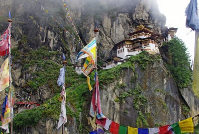 Temple Takshang Monastère boudiste Bhutan Asie Himalayah