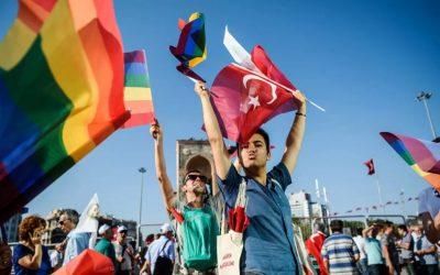 Turquie rassemblements defenseurs droits personnes LGBT LGBTQI+