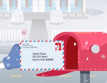 USPS Operation Santa Lettres au Père Noël